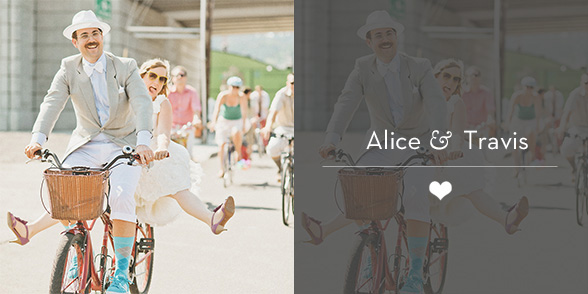 Portland Wedding Photographer - Alice & Travis - Multnomah County Courthouse and Bike Parade
