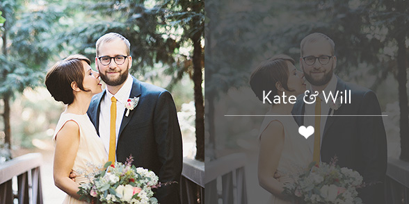 Portland Wedding Photographer - Kate & Will's Camp Seely Wedding in Crestline, CA