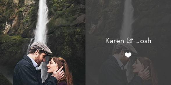 Portland Wedding Photographer - Karen & Josh - Multnomah Falls Honeymoon