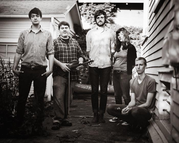 Portland band photographer - Mamiya RZ67 - Harlowe and the Great North Woods