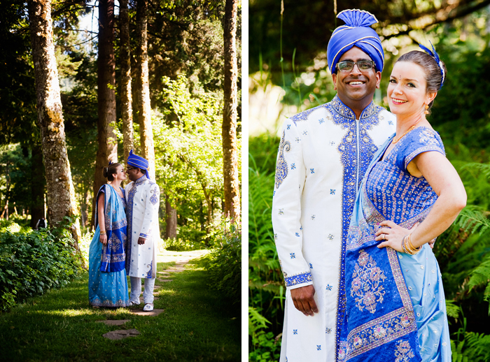 Bridal Veil Lakes Wedding Photographer - Bride Heidi Cody and Groom Navin - Portland Oregon