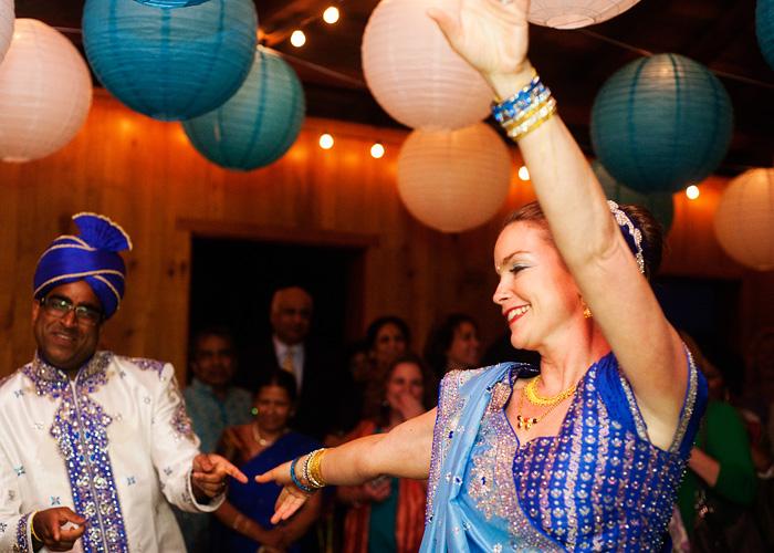 Bride Heidi Cody and Groom Navin first dance - Hindu wedding - Bridal Veil Wedding Photographer