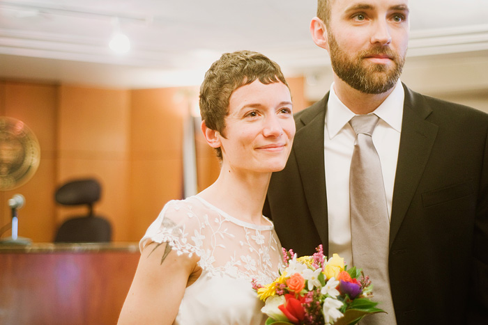 Multnomah County Court House Wedding