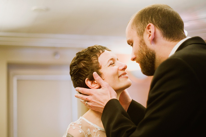 Multnomah County Court House Wedding: Kiss the Bride