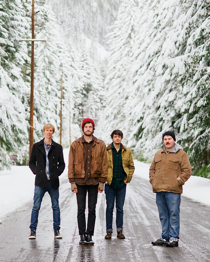 Harlowe and the Great North Woods - Portland Band Photographer
