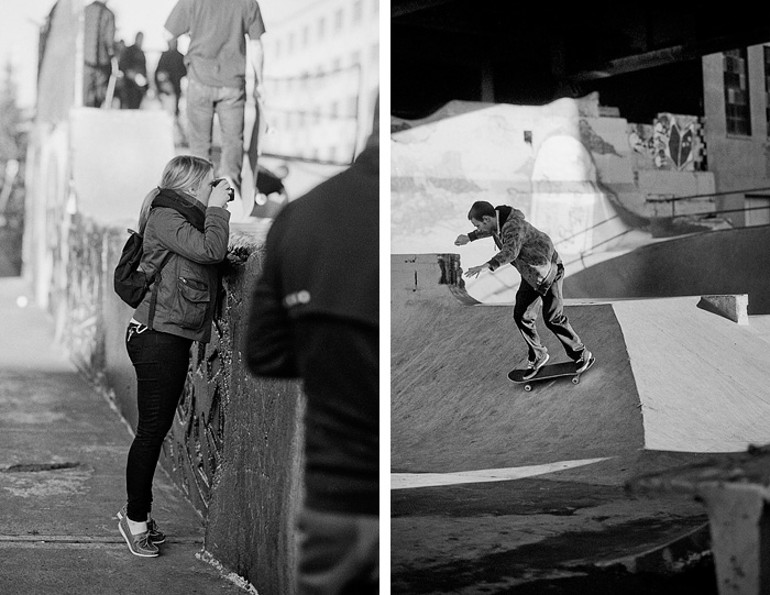 Portland Oregon - Allyson Riggs - Burnside Skatepark