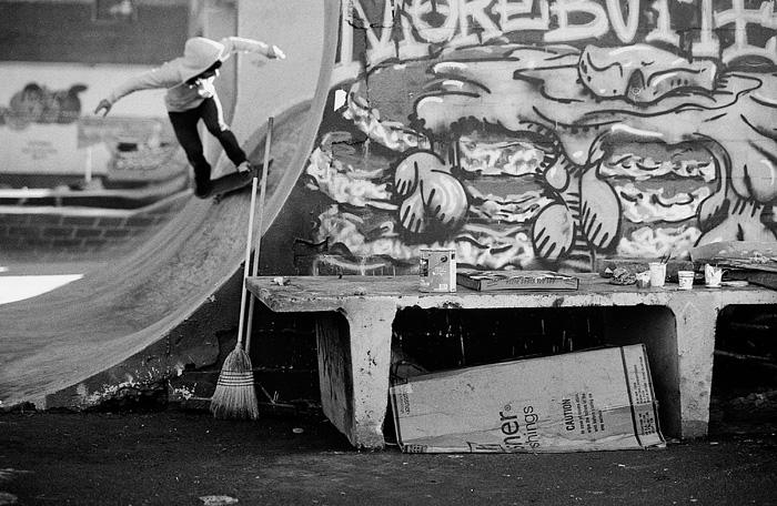 Portland Oregon - Burnside Skateboarders