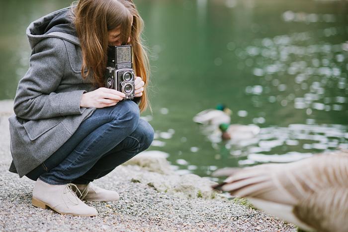 Portland Oregon Portrait Photographer - Rolleiflex