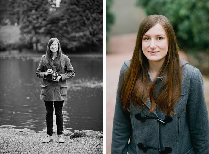 Portland Oregon Portrait Photographer - Headshot with Rolleiflex