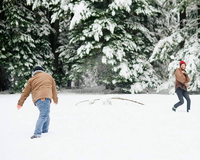Snowball Fight - Mt Hood, Oregon