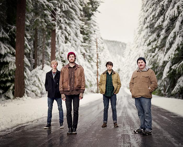 Harlowe and the Great North Woods - Mamiya RZ67 - Band Promo