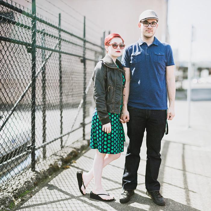 Portland Portrait Photographer - Bokeh Panorama