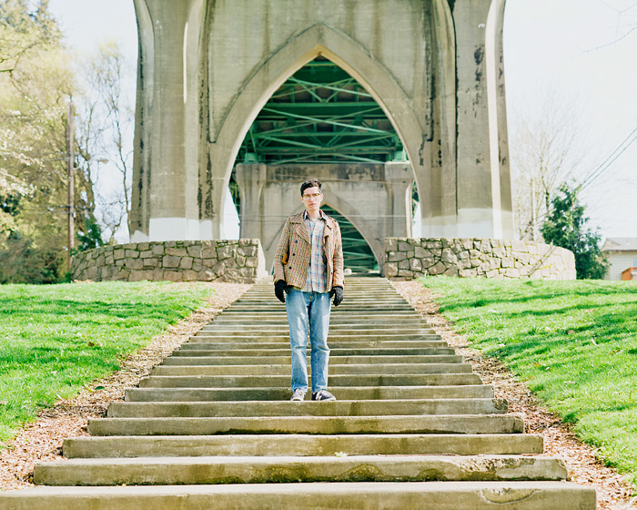 Alan at Cathedral Park - Portland Portrait Photographer