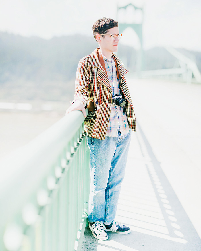 Portland Portrait Photographer - St. John's Bridge