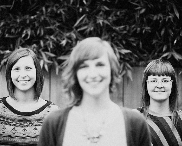 Lara, Jenica and Kelsey - Portland Portrait Photographer