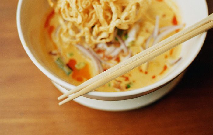 Khao Soi - Red Onion Thai - Portland Food Photographer