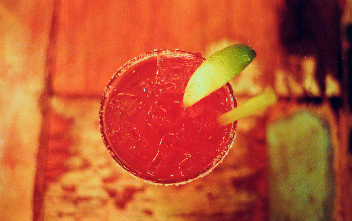Pomegranate Margarita - Por Que No - Portland Food Photographer