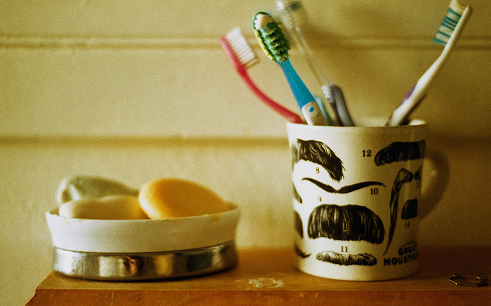 Soap and Toothbrushes - The Harlowe House - Portland Lifestyle Photographer