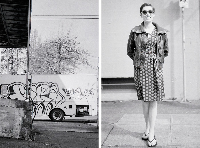 Portland Portrait Photographer - Industrial Southeast Diptych