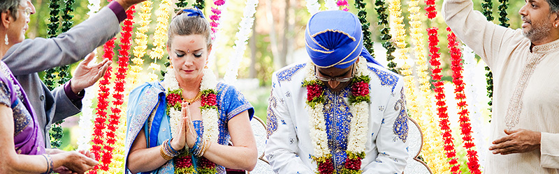 Destination Wedding Photographer - Heidi and Navin's Hindu Wedding at Bridal Veil Lakes, OR