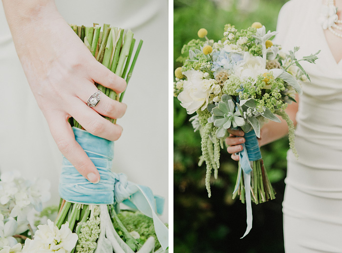 Sellwood Wedding Photographer - Bride's Bouquet and Ring