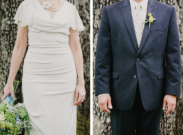 Oaks Amusement Park Wedding Photographer - Bride and Groom Portraits