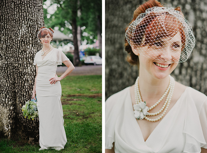 Sellwood Wedding Photographer - Oaks Amusement Park - Bridal Portrait