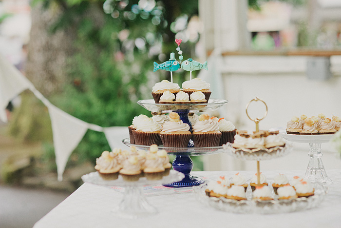 Oaks Amusement Park Wedding Reception - Sellwood, OR - Cupcakes
