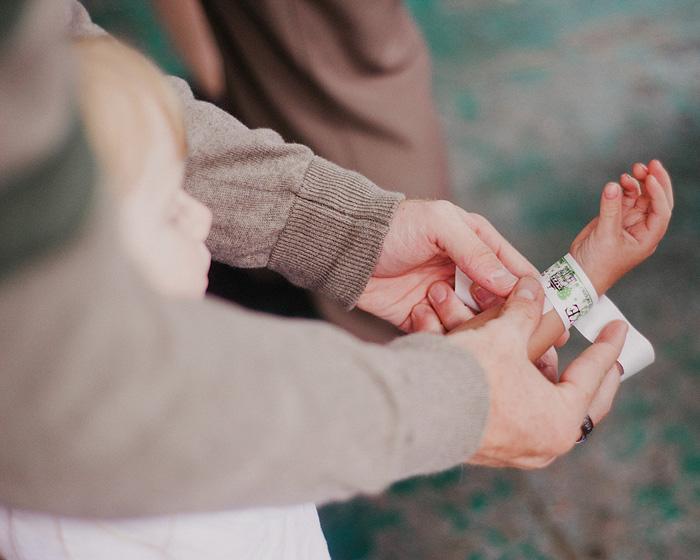 Oaks Amusement Park Wedding Reception - Rides Bracelet