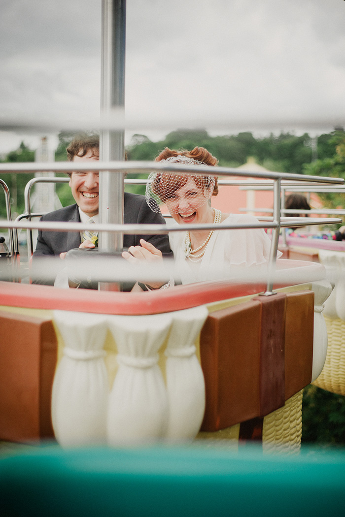 Sellwood Wedding Photographer - Oaks Amusement Park Reception