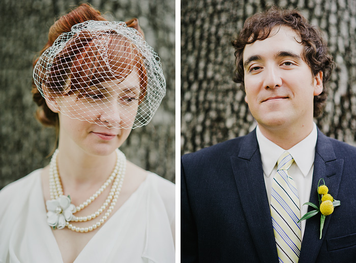 Oaks Pioneer Church Wedding Photographer - Bride and Groom Diptych