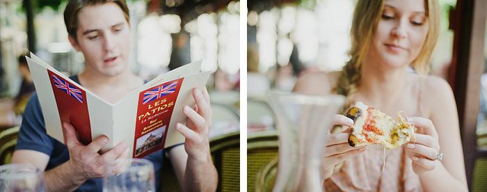 Portland Portrait Photographer - Pizza in Paris