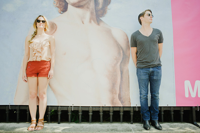 Portland Portrait Photographer - Couple Pose by French Billboard