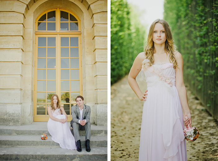 Gardens of Versailles - Paris Wedding Photographer