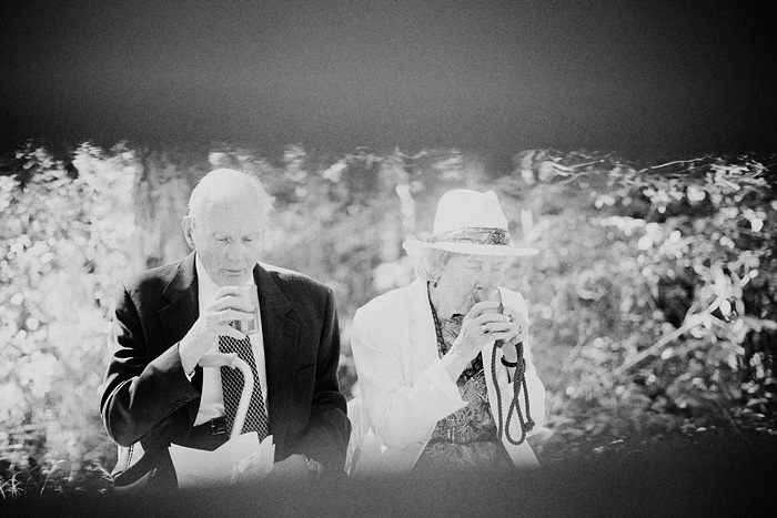 Grandparents at Camp Royaneh wedding