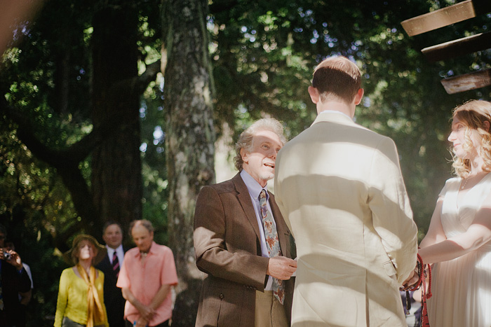 Father of the Bride - Camp Royaneh Wedding Ceremony - Cazadero, CA