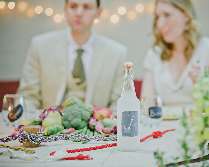 Groom and Bride with flavored vodka - Camp Royaneh - Bay Area Wedding Photographer