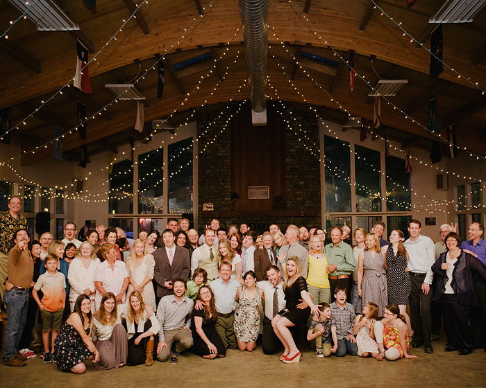 Group Photo in the Mess Hall at Camp Royaneh - Bay Area Wedding Photographer