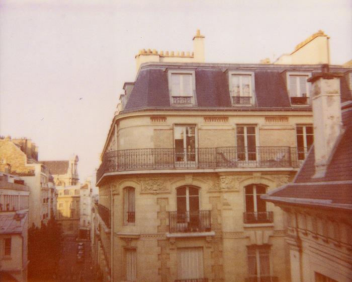 Polaroid Spectra Film - Hotel De La Bretonnerie - Paris, France