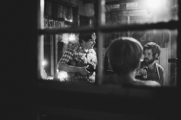 Portland Band Photographer - Harlowe and the Great North Woods at the Ranger Station