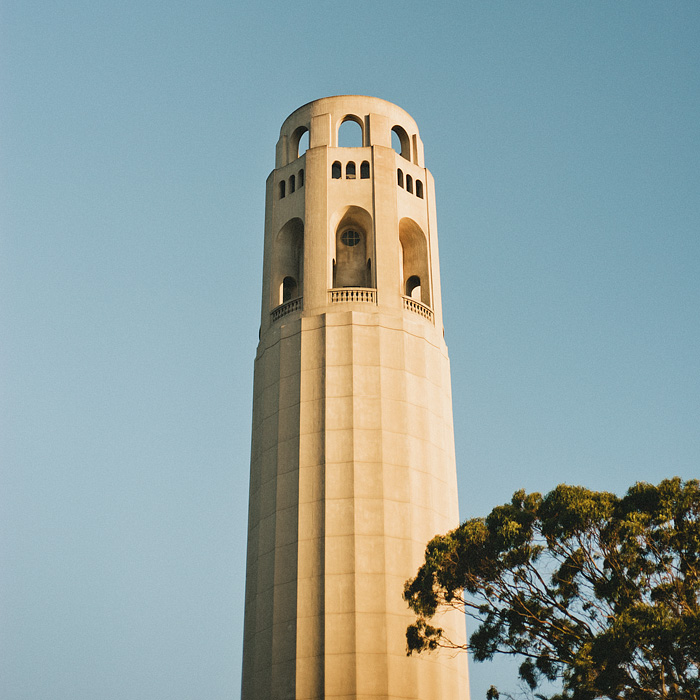 Portland Lifestyle Photographer - Coit Tower in San Francisco, CA