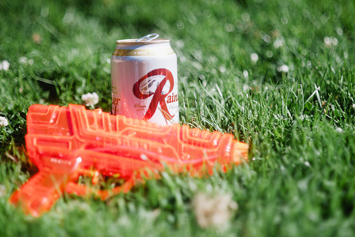 Portland Lifestyle Photographer - Water Guns and Beer in Laurelhurst Park