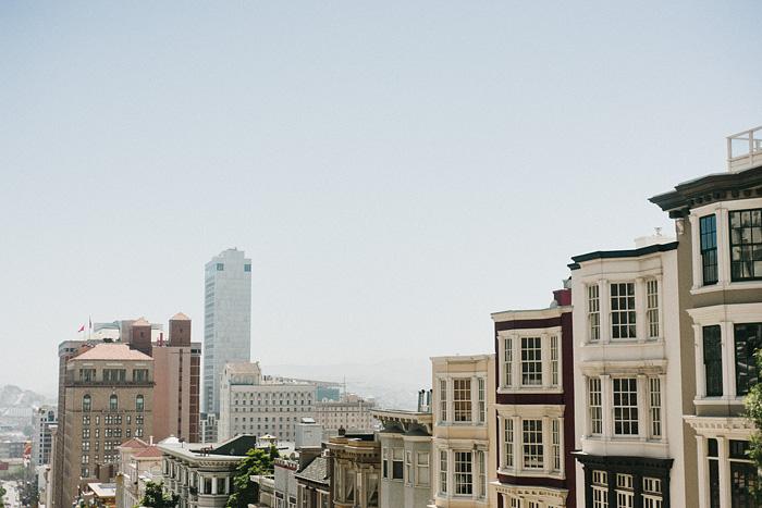 San Francisco Lifestyle Photographer - Walking through Nob Hill