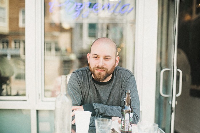San Francisco Lifestyle Photographer - Danny at Pizzeria Delfina