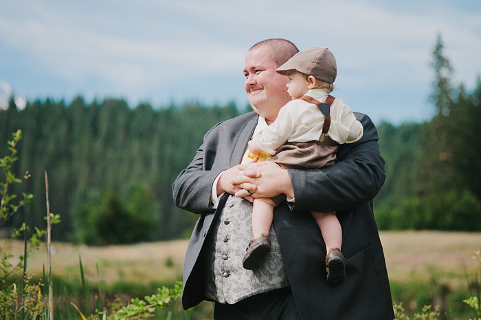 Mt. Shasta Wedding Photographer - Mt Shasta Meadow - Best Man and Ring Bearer