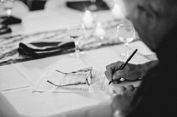 Redding Wedding Photographer - McCloud Mercantile Inn - Signing the Marriage License