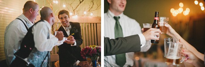 Redding Wedding Photographer - McCloud Mercantile Inn - Cheers!
