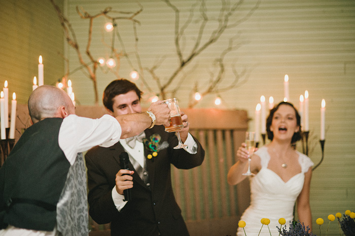 Redding Wedding Photographer - McCloud Mercantile Inn - Champagne Toast