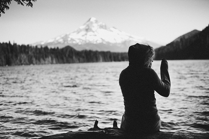 Portland Oregon Photographer - View of Mt. Hood from Lost Lake
