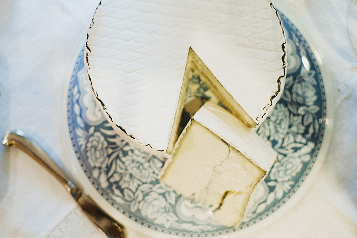 Cheese wheel - Intimate Backyard Wedding - Gasquet, CA